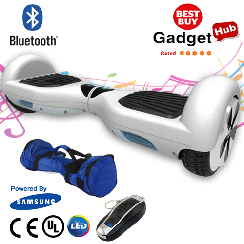 Buy White Segway Hoverboard Bluetooth