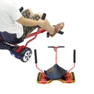 Hover cart attachment for hoverboard