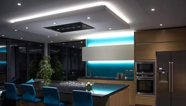bluetooth led strip kitchen bar