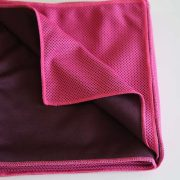 Pink Micro fibre Cooling Towel foldedJPG