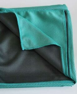 Turquois Micro fibre Cooling TowelJPG