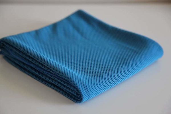 blue Micro fibre Cooling TowelJPG