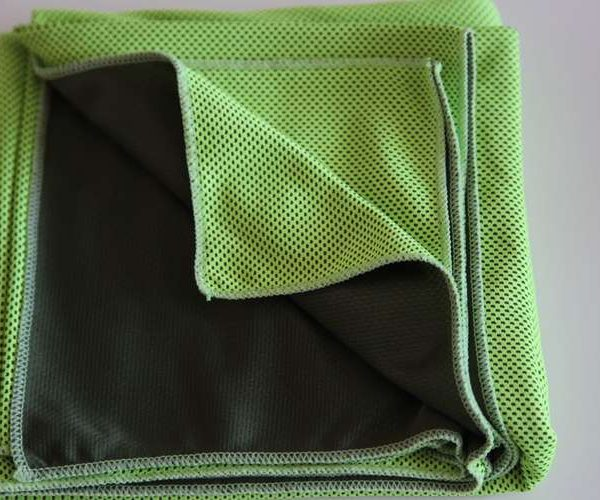 green Micro fibre Cooling TowelJPG