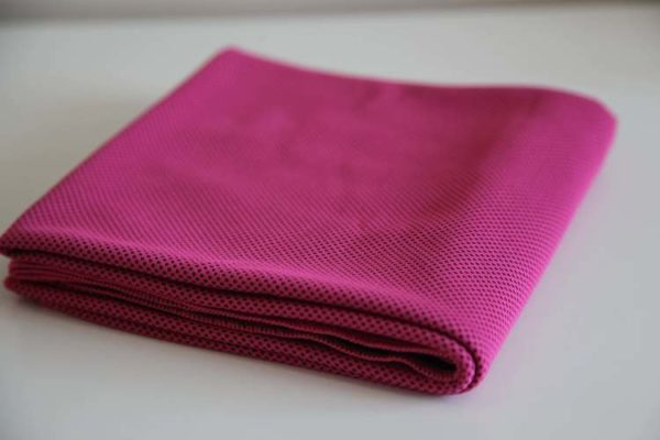pink Micro fibre Cooling TowelJPG