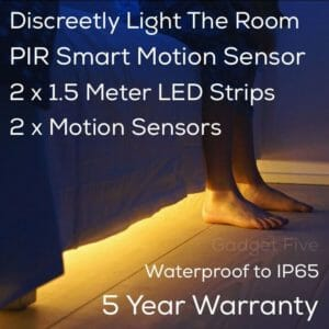 Under The Bed Motion Sensor Light UK